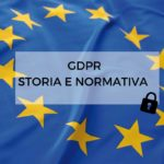 GDPR - STORIA E NORMATIVA